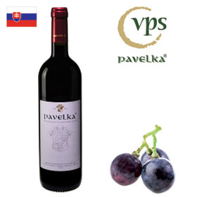 Pavelka Frankovka modrá výber z hrozna 2018 750ml