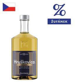 Žufánek Hruškovica z dubového suda 40% 500ml